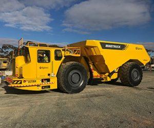 TBS Mining Solutions Underground Truck UGT004